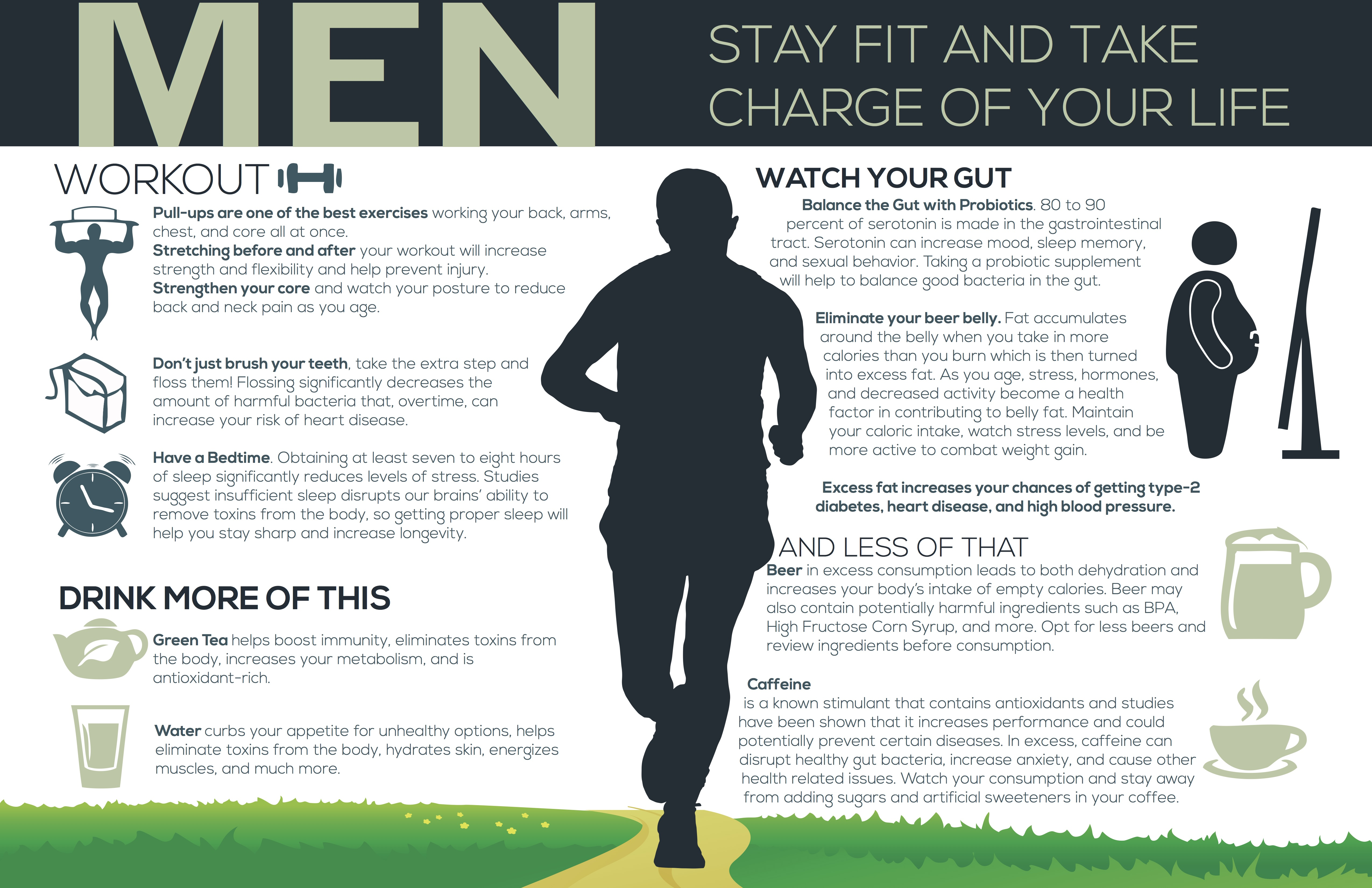 Men Stay Fit and Take Charge of Your Life
